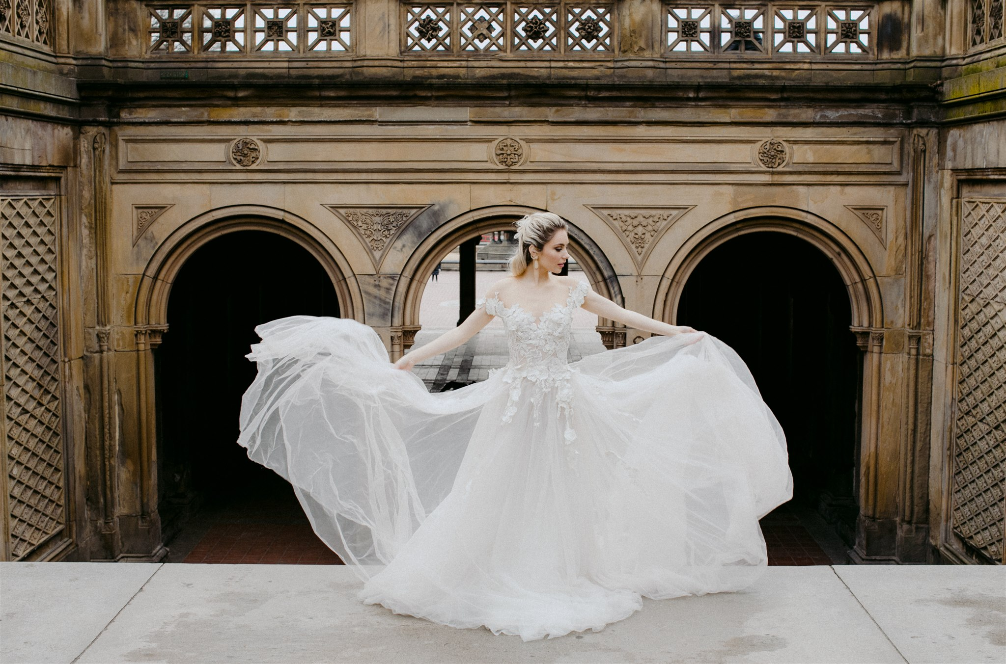 Style Across America Central Park Bridal Style Shoot