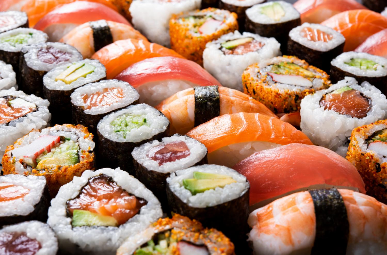 food bar ideas - sushi bar