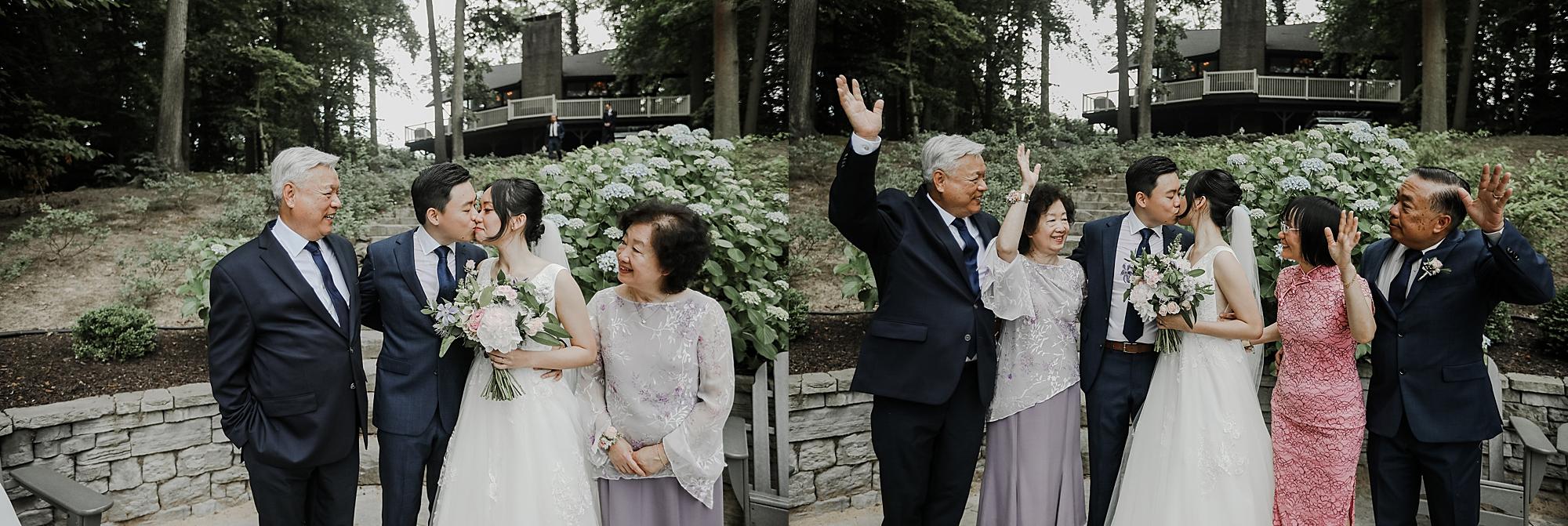 at-home wedding